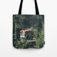 ford Tote Bags featuring Ford by danotis