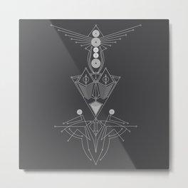 Mantas Metal Print