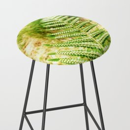 Green Fern Bar Stool