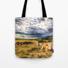 The Resting Cows Tote Bag