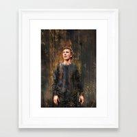 hamlet Framed Art Prints featuring Hamlet by Wisesnail