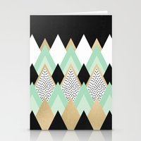queen Stationery Cards featuring Queen by Elisabeth Fredriksson