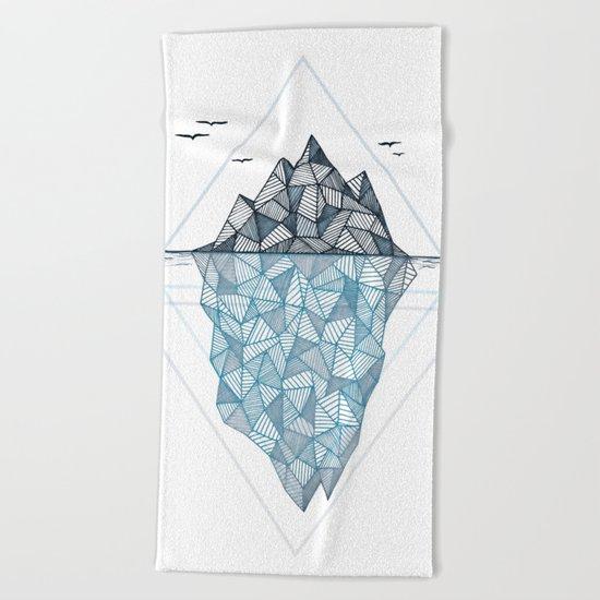 Iceberg Beach Towel