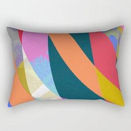 Boring but Pleasant Office Abstract Modern Art Rectangular Pillow