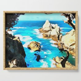 Point Lobos Serving Tray