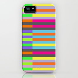 Optic Stripes iPhone Case