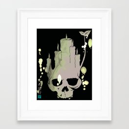 Death is Reborn/Reborn is Death Framed Art Print