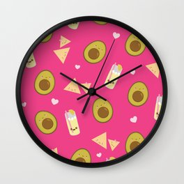 Hola Chica Wall Clock