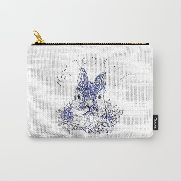 Bunny moody Carry-All Pouch