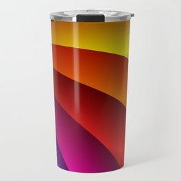 towel full of colors -3- Travel Mug