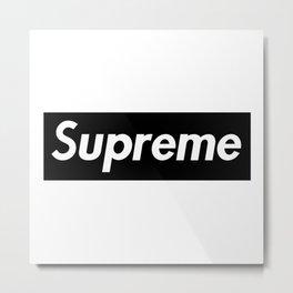 Supreme_boxlogo Metal Print