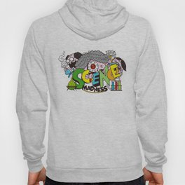 science madness Hoody