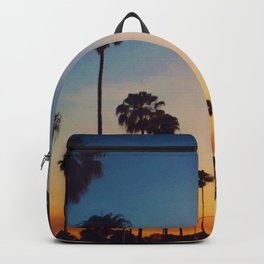 Hollywood Tropical Sunset (Color) Backpack