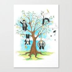 Les Petits - Apple Tree Canvas Print
