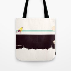 When the night falls quiet. Tote Bag