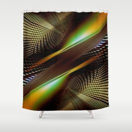 Dynamism Shower Curtain