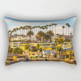 Classic Newport Beach Rectangular Pillow