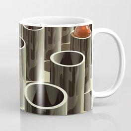 Stockyard of Cylinders Coffee Mug