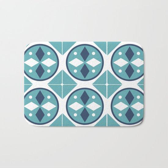 Azulejos Portugal 2 Bath Mat