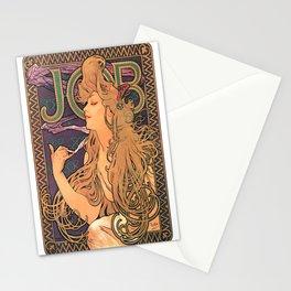Vintage poster - JOB Cigarettes Stationery Cards