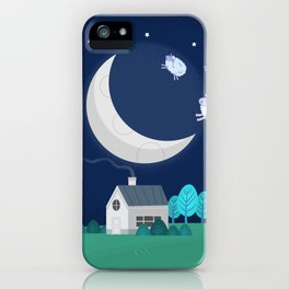 What The Sheep Do While You Sleep iPhone Case