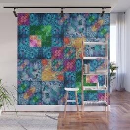 High Definition Geometric Quilt 1 Wall Mural
