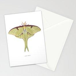 Luna Moth Stationery Cards