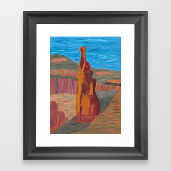 Independence Monument 092013 Framed Art Print