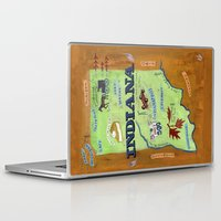 indiana Laptop & iPad Skins featuring INDIANA by Christiane Engel
