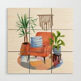 Indoor Plants 2 Wood Wall Art