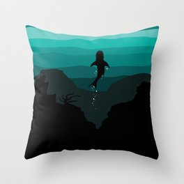 the Reef Throw Pillow
