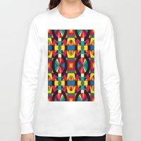 introvert Long Sleeve T-shirts featuring Introvert/Extrovert by Art by Andrew Smith