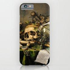 Vintage Vanitas- Still Life with Skull iPhone 6s Slim Case