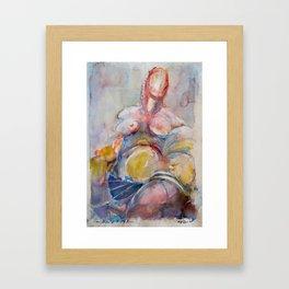 Of Saintly Sinners Framed Art Print