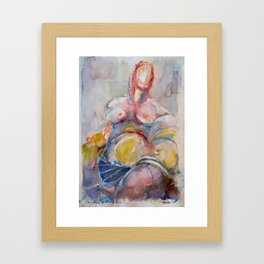 Of Saintly Sinners Framed Art Print