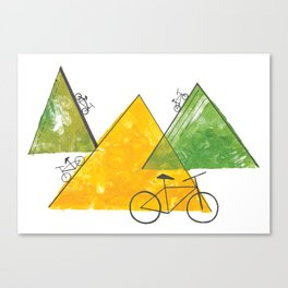 Ride Bike Canvas Print