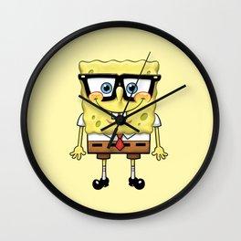 Spongebob's Glasses Wall Clock