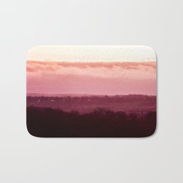 Sunset in Pink bywhacky Bath Mat