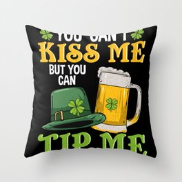 You Can Tip Me - Gift Throw Pillow