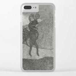 Field 2 Clear iPhone Case