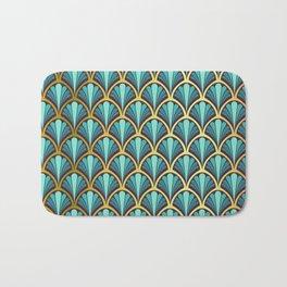 Vintage seashell tapestry - Prince Charming Bath Mat