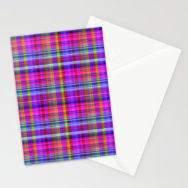 Classic Plaid Stationery Cards