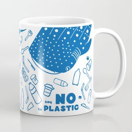 Say NO to Plastic Coffee Mug