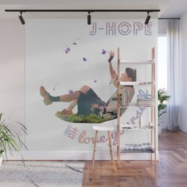 BTS Love Yourself Answer - JHope Wall Mural