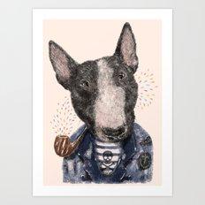 Mr.Bullblack Art Print