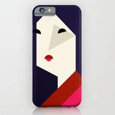 geometric girl Slim Case iPhone 6s