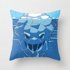 Below the Surface Throw Pillow