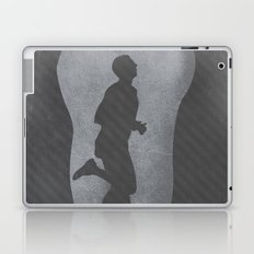 Marathon Man Poster Laptop & iPad Skin