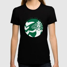 Serving Tea Daily (Green) T-shirt
