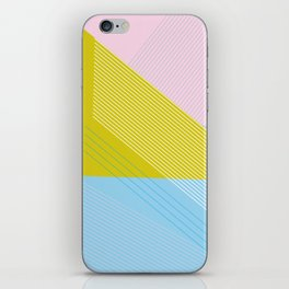 West Coast Color Lines iPhone Skin